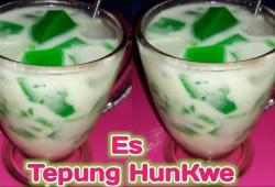 Cara Memasak Minuman Es Tepung HunKwe Pas Banget Untuk Menu Buka Puasa