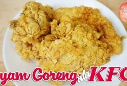 Cara Memasak RESEP AYAM GORENG ala KFC