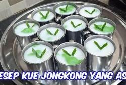 Cara Memasak RESEP KUE JONGKONG YANG SEBENARNYA.