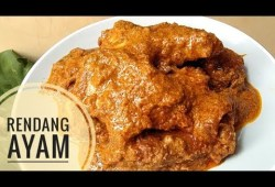 Cara Memasak Resep rendang ayam