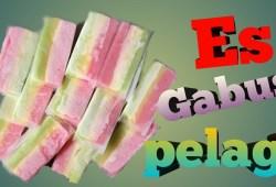 Cara Memasak Cara Membuat Es Gabus Pelangi |  dengan pewarna alami |  menu bulan ramadhan
