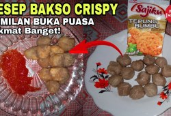Cara Memasak Resep Bakso Ayam Crispy Cemilan Buka Puasa