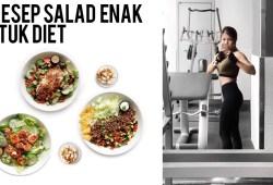 Cara Memasak 3 RESEP SALAD UNTUK DIET! ENAK & BIKIN KENYANG LEBIH LAMA!