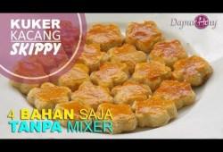 Cara Memasak Kue Kering Kacang (SKIPPY) 4 bahan saja, Tanpa Mixer