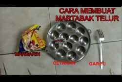 Cara Memasak jajanan laris 1000an cara membuat martabak (martel) telur mini bulat makanan dan kuliner Indonesia