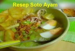 Cara Memasak Resep Masakan Indonesia Soto Ayam Cocok Untuk Menu Ramadhan