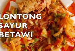 Cara Memasak Lontong Sayur – Cara Membuat Lontong Sayur Betawi ~ Indonesian Vegetable Stew II CLK