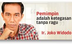 Kata Inspiratif Jokowi Kata Bijak Joko Widodo