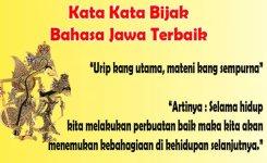 Kata Kata Bijak Orang Jawa