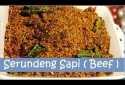 Cara Memasak Resep Serundeng Daging Sapi (Beef Serundeng Recipe)