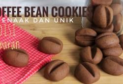 Cara Memasak Resep Coffee Bean Cookies-Edisi Kue Lebaran