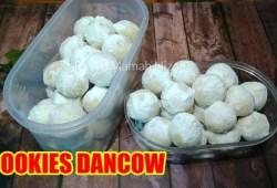 Cara Memasak Resep Kue Lebaran Cookies Dancow