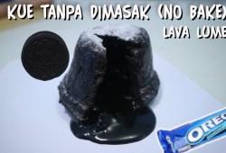 Cara Memasak Kue Oreo Lava Lumer Tanpa Dimasak Hanya 2 Bahan