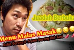 Cara Memasak MENU LAGI MALESS MASAK || IFTAR RAMADHAN || #oghekelate #RizzAllina #KelantanYoutuber
