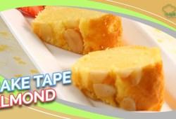 Cara Memasak Resep Lebaran: Cake Tape Almond yang Pas Buat Hantaran Lebaran, Rasanya Bikin Speechless!