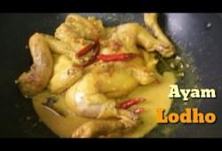 Cara Memasak Cara Membuat Ayam Lodho/Lodo,Resep Ayam Lodho