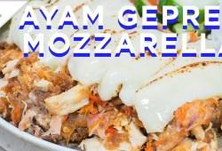 Cara Memasak Resep Ayam Geprek Mozzarella | Resep #389