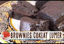 Cara Memasak Resep Brownies Cokelat Kukus Lumer dan Meleleh