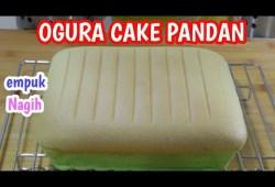 Cara Memasak Resep Bolu pandan lembut /Ogura Cake pandan Empuk dan Enak