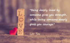 Kata Mutiara Bahasa Inggris Tentang Cinta Love Being Deeply Loved By Someone Gives