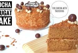 Cara Memasak Resep Mocha Nougat Cake