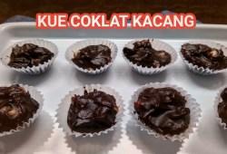 Cara Memasak resep cara membuat kue kacang coklat – resep jualan || resep jajanan anak sekolah