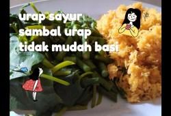 Cara Memasak Resep mudah membuat sambal urap atau sayur urap || masakan harian