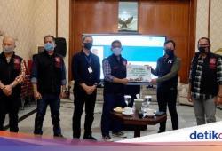 Komunitas Pehobi Moge Salurkan Donasi COVID-19 Rp 35 Juta di Bogor