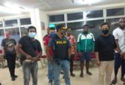 Keroyok Anggota Polisi, 10 WN Nigeria di Apartemen Cengkareng Ditangkap