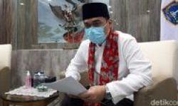 Penghormatan Terakhir Jenazah Saefullah dengan Protokol COVID