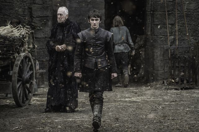 © HBO - Isaac Hempstead Wright as Bran Stark, Max von Sydow as Three-Eyed Raven