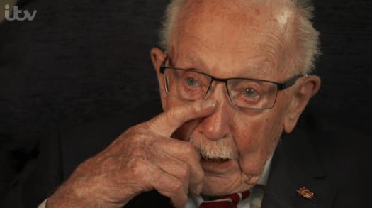 Tom Moore documentary viewers in tears as he speaks about ...
