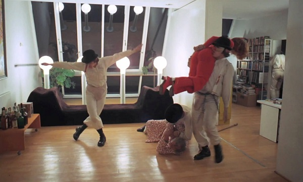 a clockwork orange home invasion
