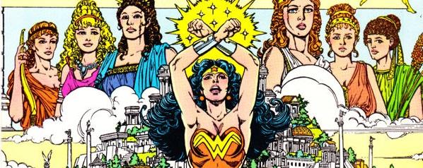 Wonder Woman Perez Cover