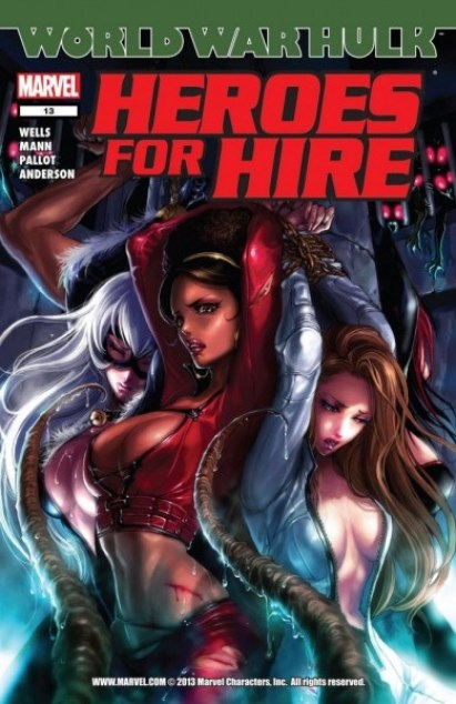 Heroes for Hire 13_female comics characters