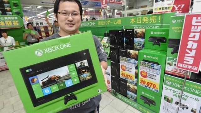 Xbox One Japan customer