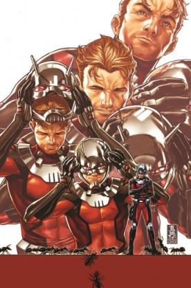 Ant-Man #1 2015 & Hawkeye