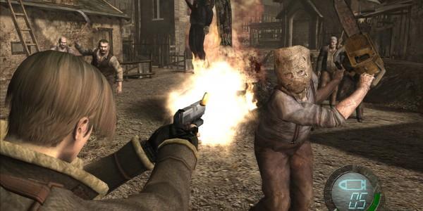 RE 4 screenshot chainsaw HD