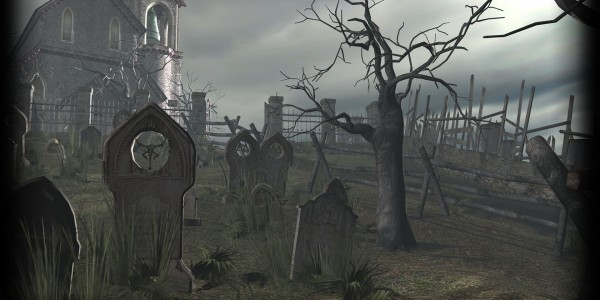 RE4 graveyard