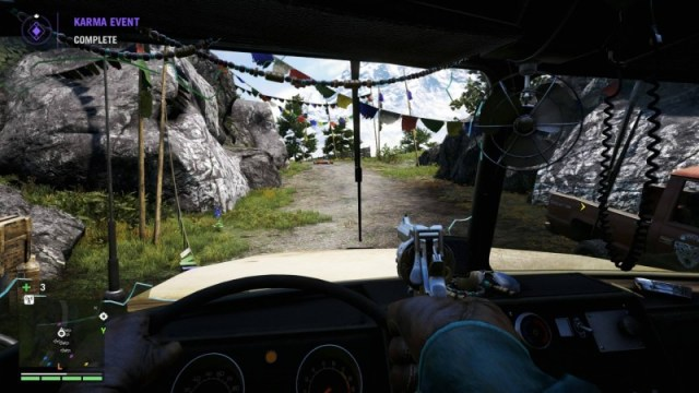 FarCry4 driving pistol