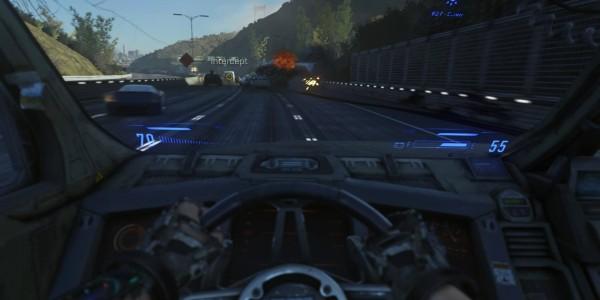 Call of Duty Advanced Warfare driving