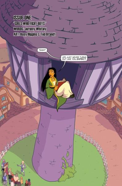 Princeless Volume 3 #1 Page 5-1