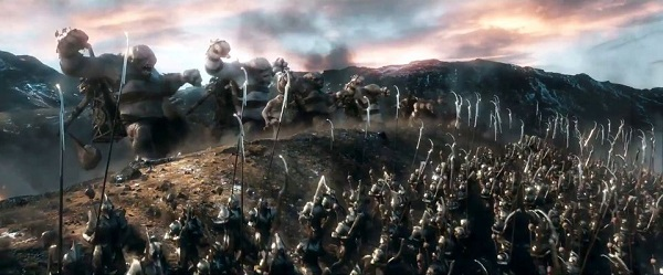 the hobbit - orc and troll army