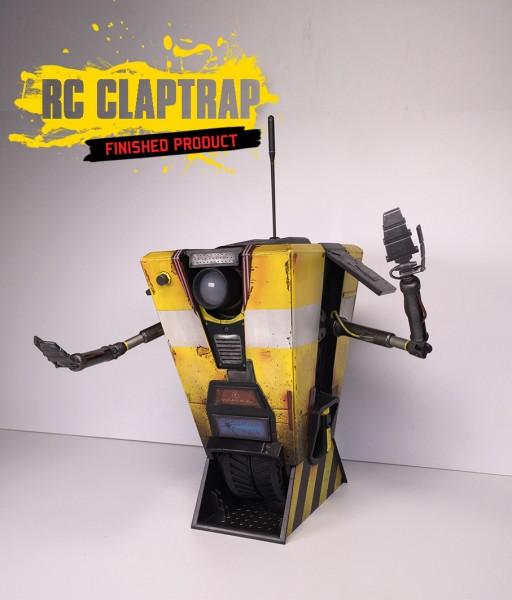 Claptrap robot Borderlands