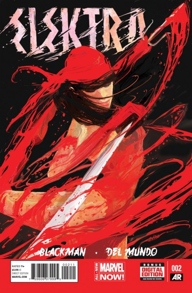 Elektra #2 Cover