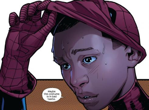 Spider-Man might not be white