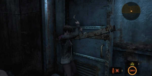 Crowbar Resident Evil Revelations 2 moira