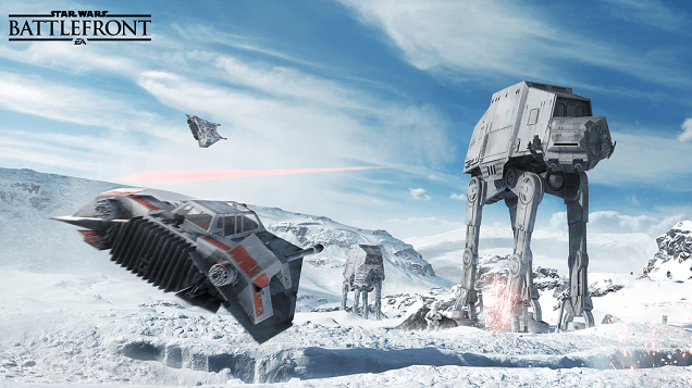 SW battlefront hoth