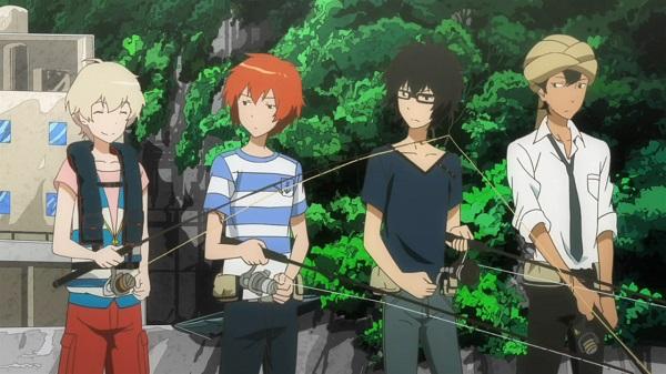 Tsuritama the crew