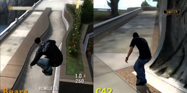 split screen THPS5